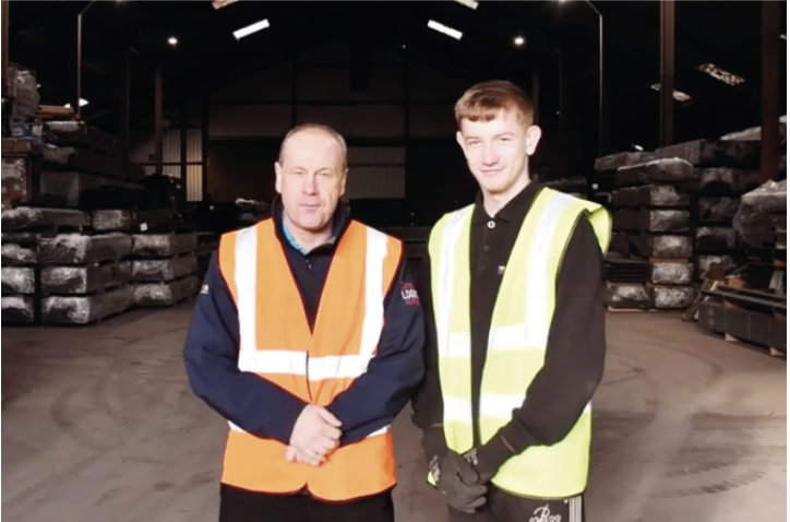 Overcoming difficulties to thrive in his apprenticeship