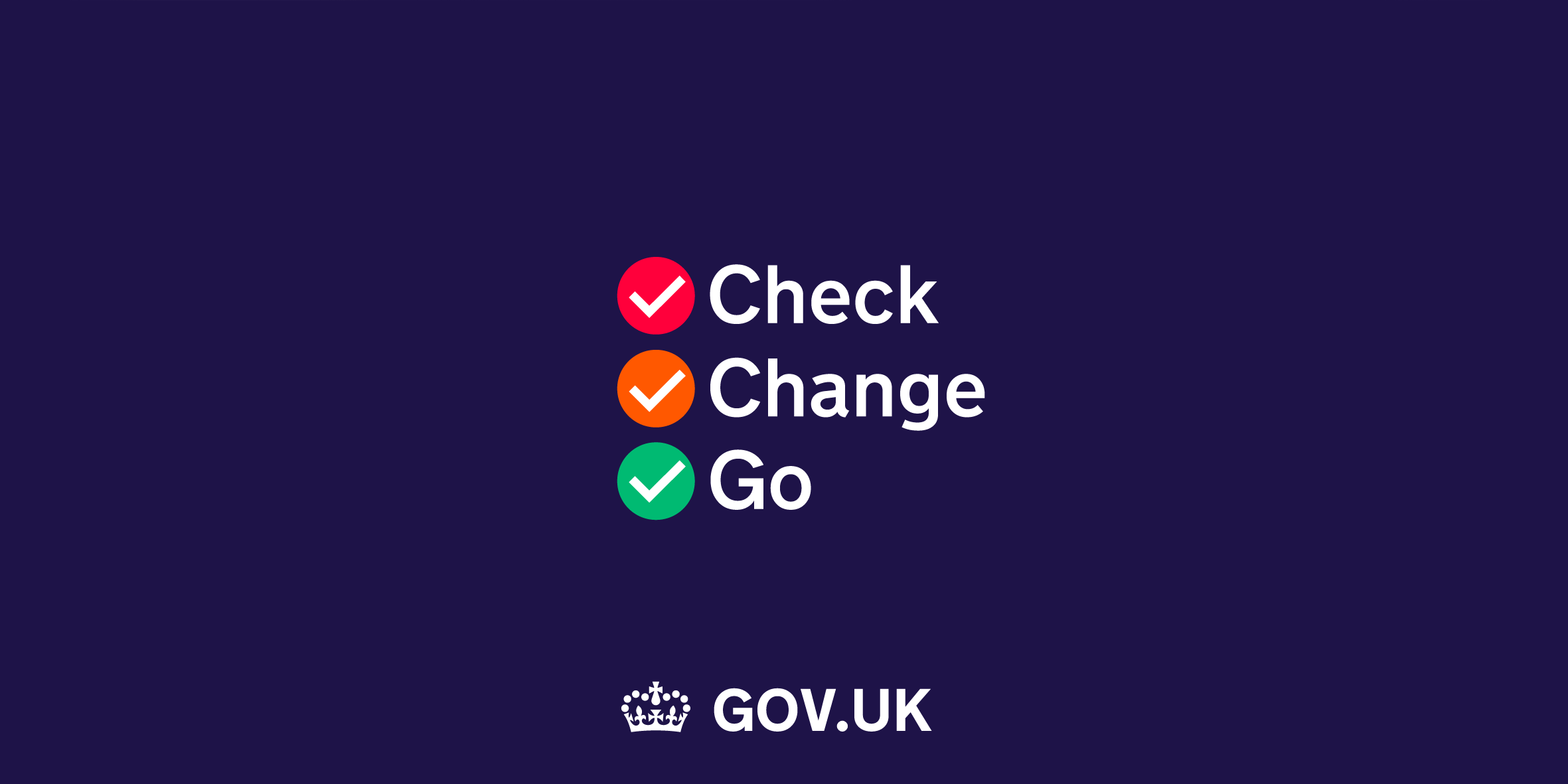 """Check, change, go"": Government launches new Brexit campaign"