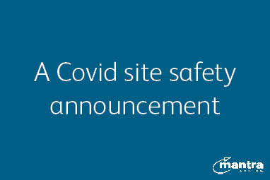A Covid-secure site update